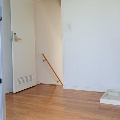 3階は脱衣所と、洗濯機置場に。