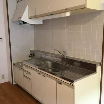 キッチンは既存ですが、大きめ!