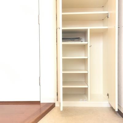 玄関、シューズボックスは大容量です!