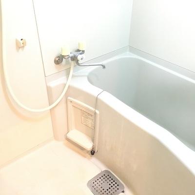 お風呂も渋めです