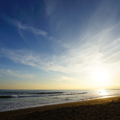 歩いていける海が感動的にきれい!