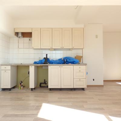 キッチン素敵※工事中です