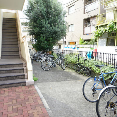 自転車があればお買い物も楽ちん!