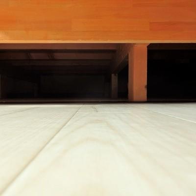 床下収納もあります。