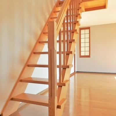 立派な階段を上ると…。