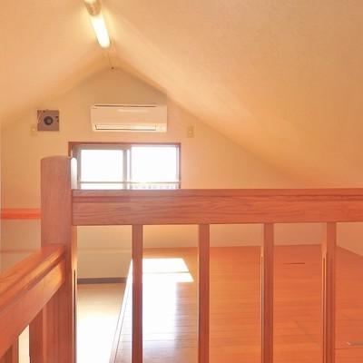 三角屋根がかわいい納戸!