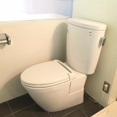 トイレ。ユニットですが清潔感あり!