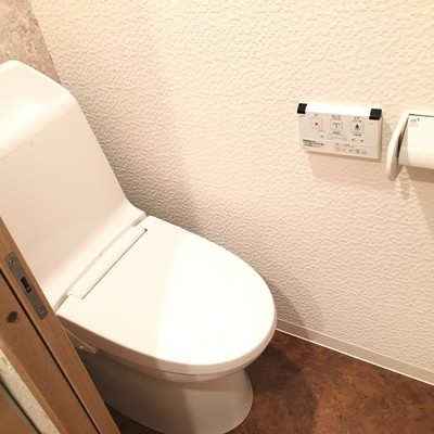 トイレすごくキレイ!ちょっと狭いですが。。