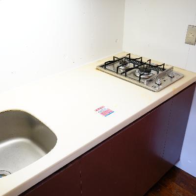 キッチンは実用的!!
