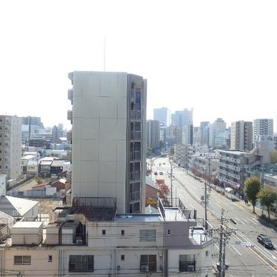 8階の眺望