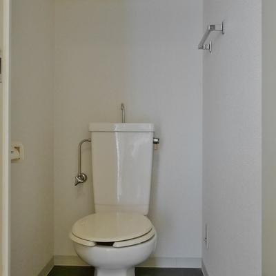 トイレも一般的