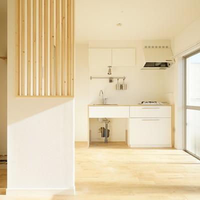 キッチンはインテリアの一部としてお部屋に馴染む!