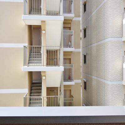 バルコニー眺望はマンション。