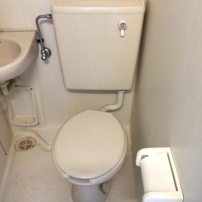 トイレは1階と2階合わせて2つ