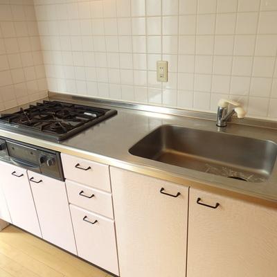 キッチンも大きめです。