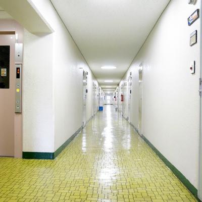 本当に部屋数多い大きいマンションです