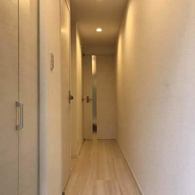 廊下が結構長いです
