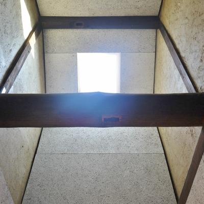 廊下に天井は高ーい!