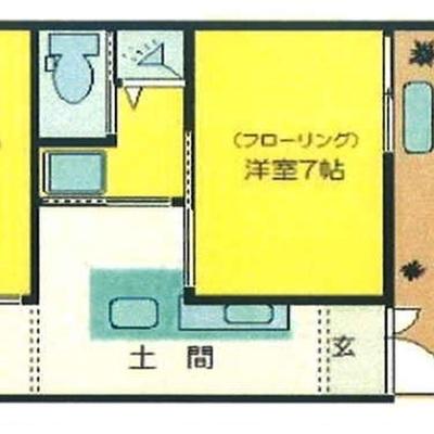 お部屋は分け分けできます。
