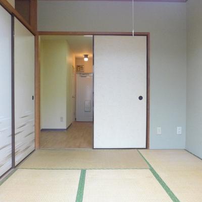 ばっちり和室なのですが、TOMOSに変容シます!※写真は工事前です