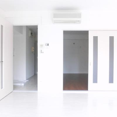 ドアが沢山に見える!