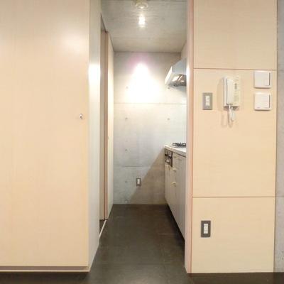 隠れキッチン!