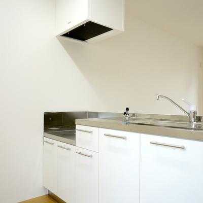 キッチンは2口ガスコンロ設置可能です!
