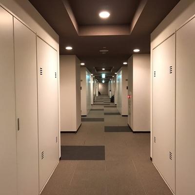 ホテルのような内廊下