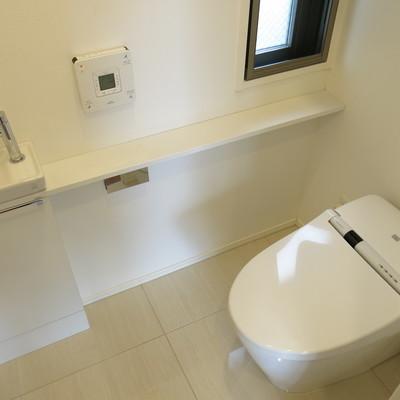 1階と2階のどちらにもお手洗いがあります