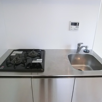 キッチンスペースもちゃんとスペース確保ですね。