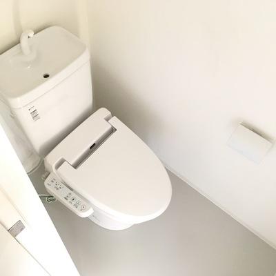 トイレの個室も嬉しい!!