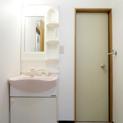 裏口がありますが洗濯機置いたら。。ですよね。