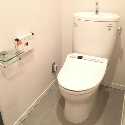 トイレもキレイがステキ!