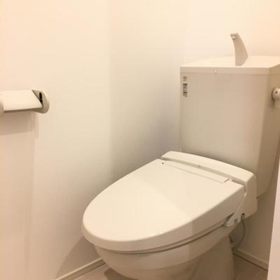 トイレもぴかぴか
