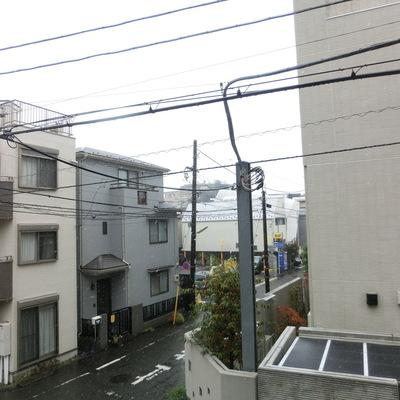 眺望は住宅街!