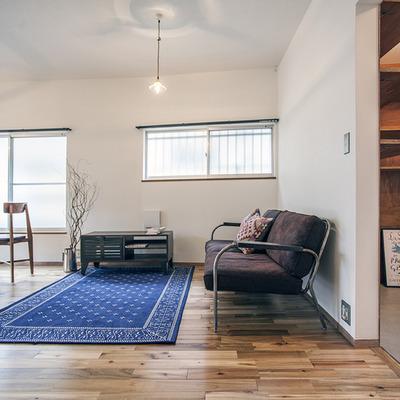 背の低い家具が似合いますね
