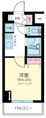 コンシェリア・デュー勝どき の間取り