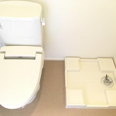トイレ、洗濯機はこちら!