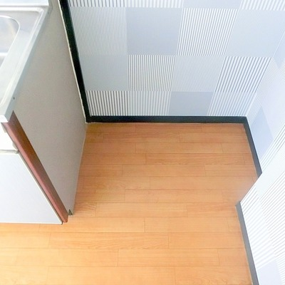 冷蔵庫置き場でしょうか