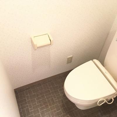トイレはシンプル!