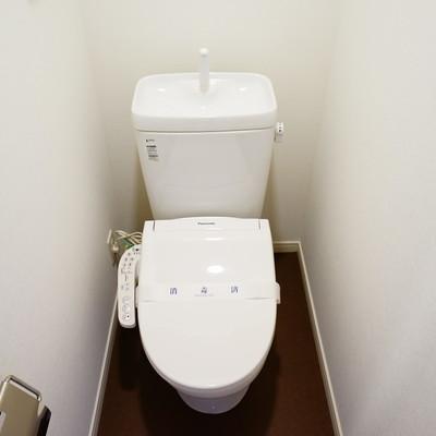 トイレは新品のウォシュレット付きです!※写真はイメージ