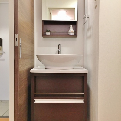 デザイン洗面台です!