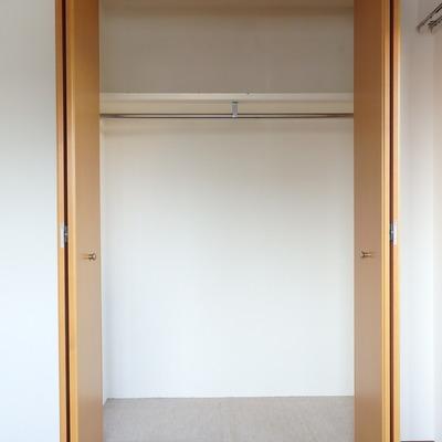 洋室にも収納あります。