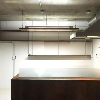 対面式キッチン…カッコ良いです!