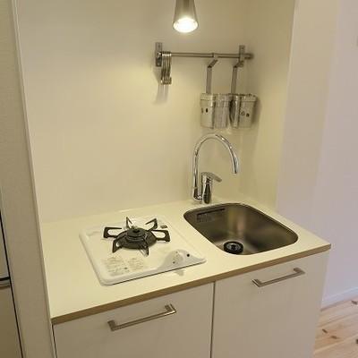 キッチンは一口ガスに※写真はイメージ