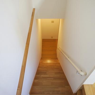 階段を下りると。。
