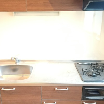 キッチンも大きくて使いやすそうに※写真は原状回復中です!