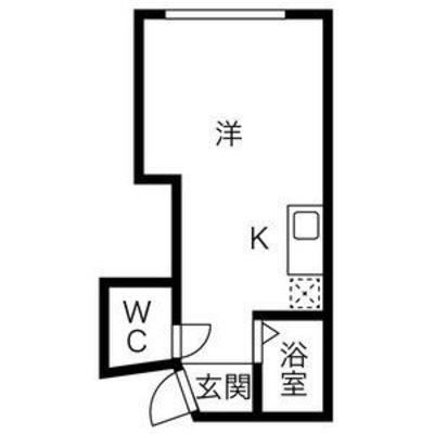 早川総合東ビル の間取り