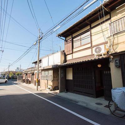 東寺南側の京町家