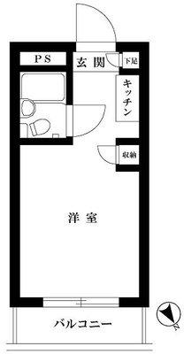 TOP横浜東白楽 の間取り